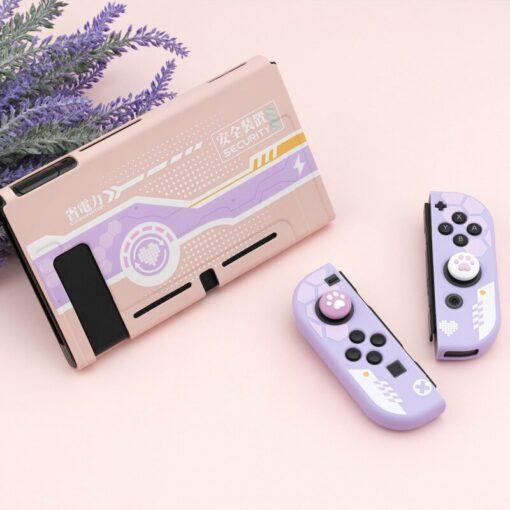 Pink Lightning Nintendo Switch Protective Case